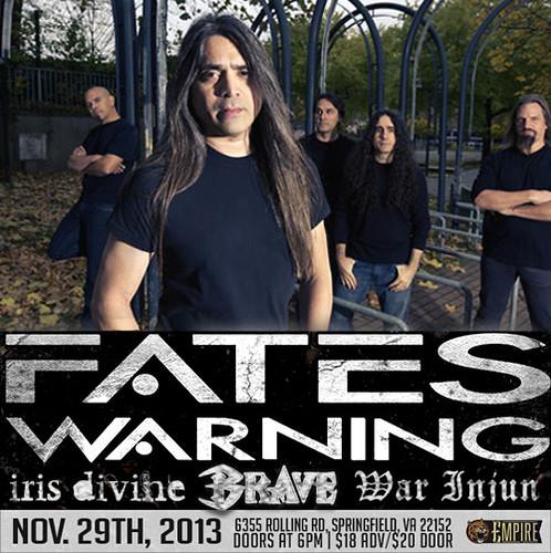 Fates Warning at Empire