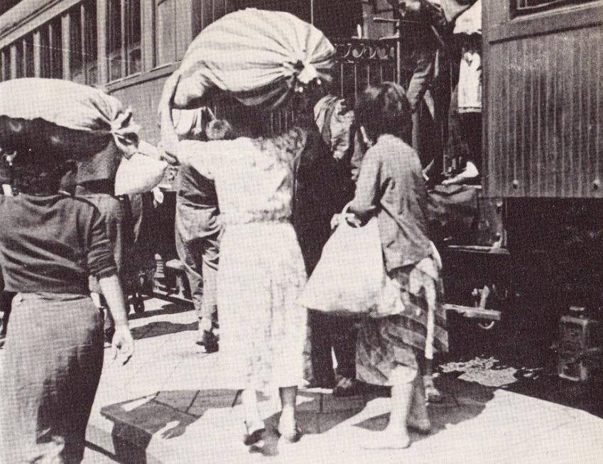 8. La pesadilla de los desplazados. 1938