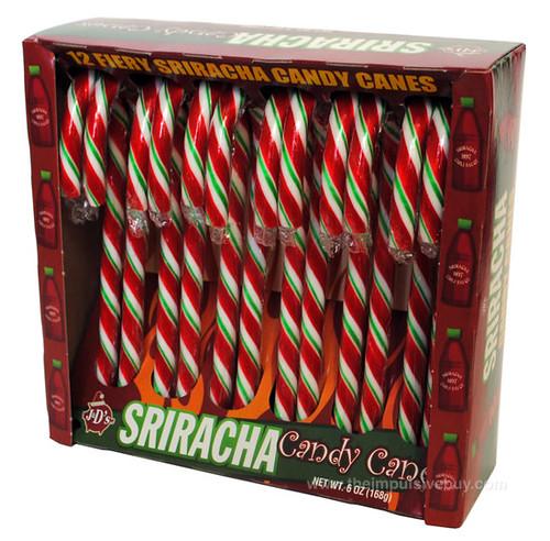 J&D's Foods Sriracha Candy Canes