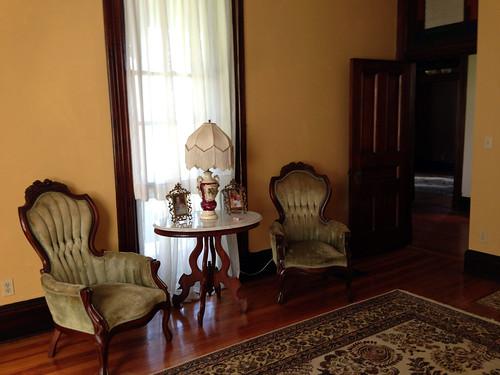 Savage House sitting room