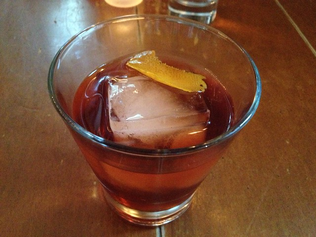 Vieux Carre cocktail - Town Hall