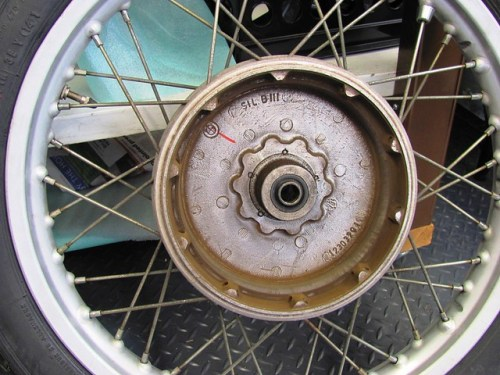 Brake Shoe Side, Front Wheel