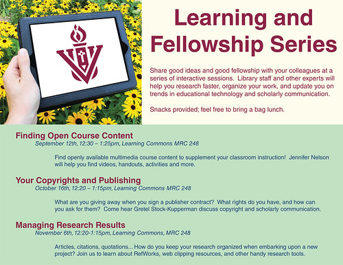 Learning and Fellowship Series (Final)