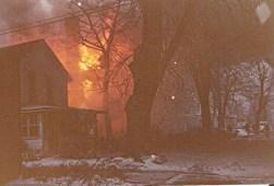House fire b
