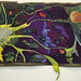 Neurons Art Quilt - sold private collection