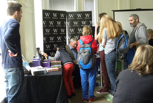 Chris Riddell signing queue