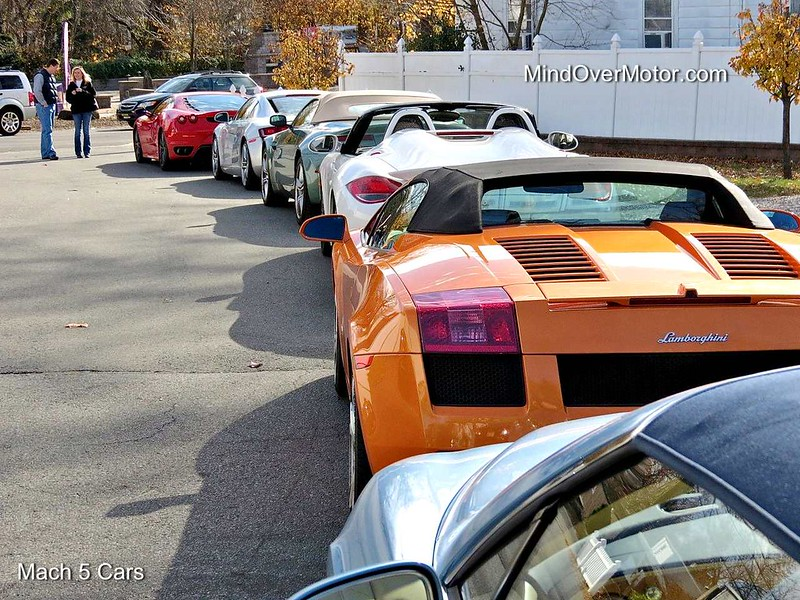 Mach 5 Cars' Exotic Rally Tour