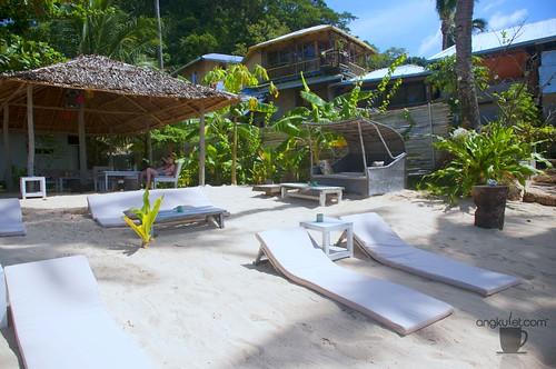 La Plage Sunset Bar and Mediterranean Restaurant, Corong-Corong Beach, El Nido, Palawan