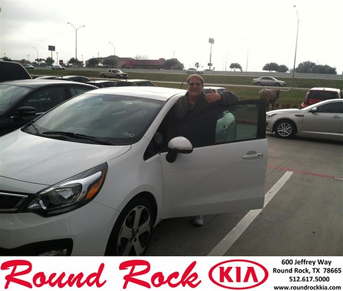Thank you to Tina Bowman on your new 2014 #Kia #Rio from Shawn  Wright and everyone at Round Rock Kia! #NewCar by RoundRockKia
