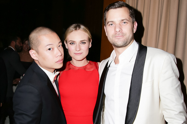 Jason Wu, Diane Kruger and Joshua Jackson