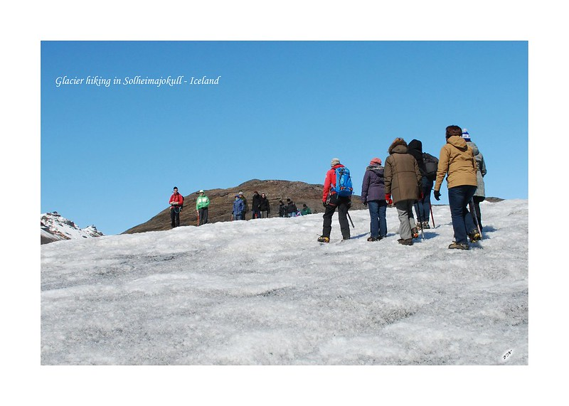 Glacier hiking in Solheimajokull - Iceland2'