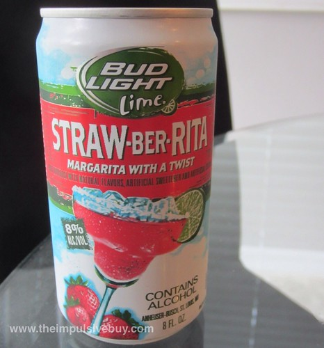Bud Light Lime Straw-Ber-Rita Can