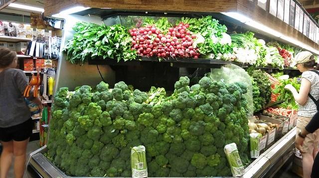超誇張的花椰菜擺設