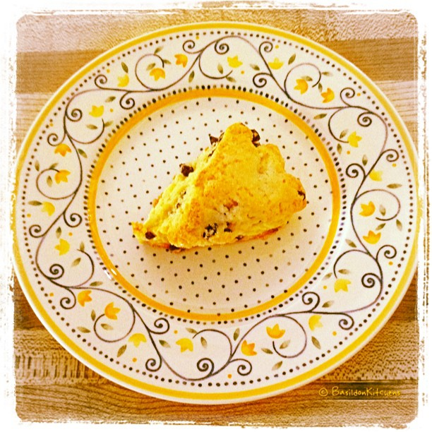 June 23 - last {the last home-made scone!} #TitleFx #fmsphotoaday #baking #scone #yummy #cooking