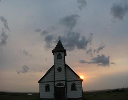 Luthern Peace Church 1922 pano