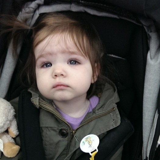 This is the face of a baby that just got four vaccinations #sad #ow #herdimmunity