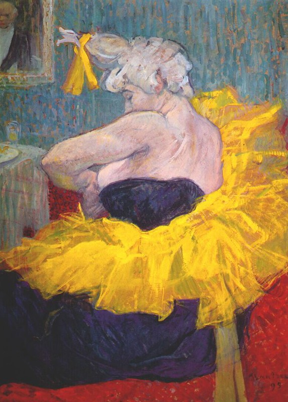 Toulouse-Lautrec, A Mulher Palhaço Cha-u-Kao, 1895