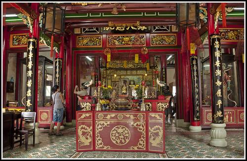 489-ALTAR DE LA DIOSA  THIEN HAU EN  HÔI AN- (Vietnam)