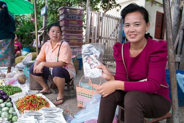 morning market, Luang Prabang