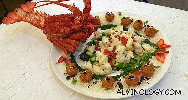 Auspicious Lobster Gems in Dual Style
