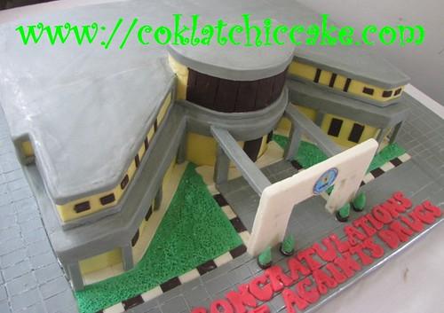Kue ulang tahun gedung BNN Bogor