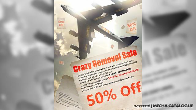 E2046 Crazy Removal Sale