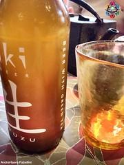 Yuzu green tea Beer xperiment