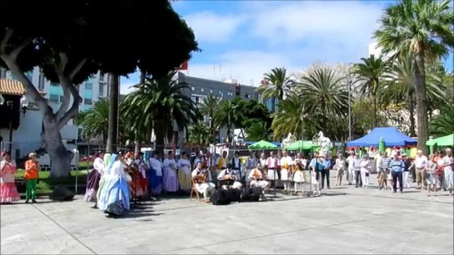 VII Feria de Abril Las Palmas Hermanamiento folclórico Canarias-Andalucia video 06