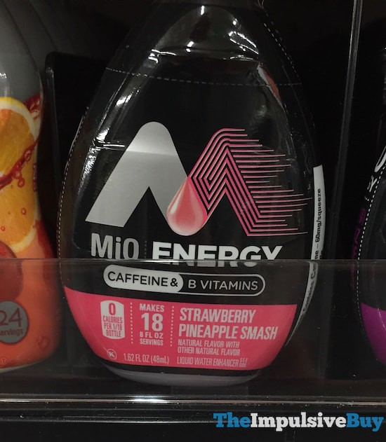 MiO Energy Strawberry Pineapple Smash