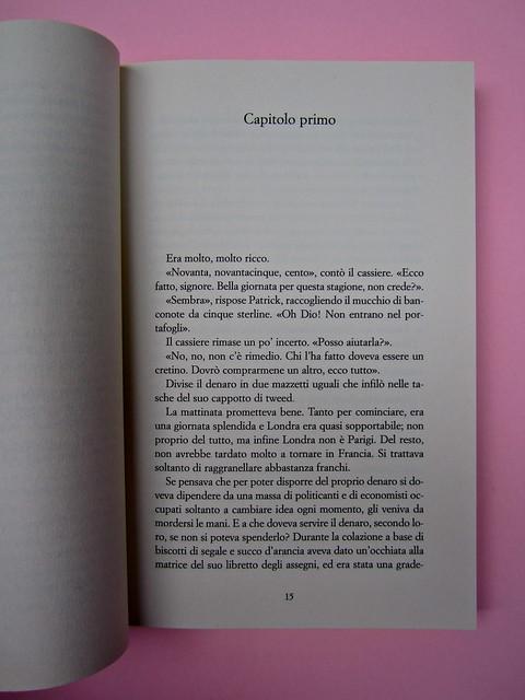 Una camera a Chelsea, di Michael Nelson. Castelvecchi 2013. [resp. grafica non indicata]. Incipit (part.), 1