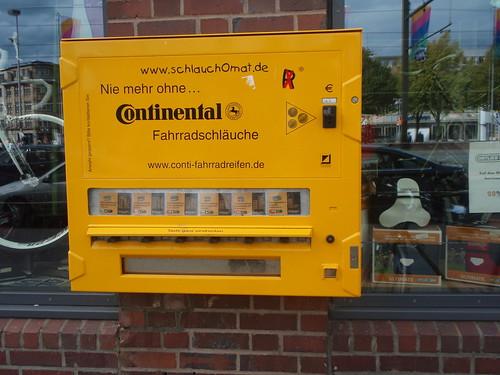 Inner tube vending machine