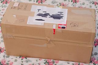 A Box Arrives!
