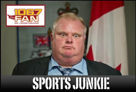Rob Ford, Sports Junkie