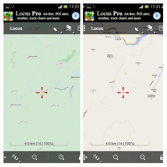 Set2 - OSM vs Google Map