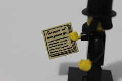 The LEGO Movie Collectible Minifigures (71004) - Abraham Lincoln
