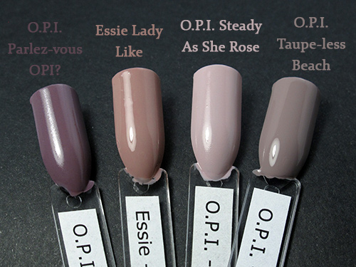 Some OPI polishes