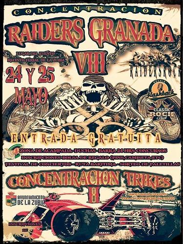 VIII Concentración Raiders Granada - La Zubia