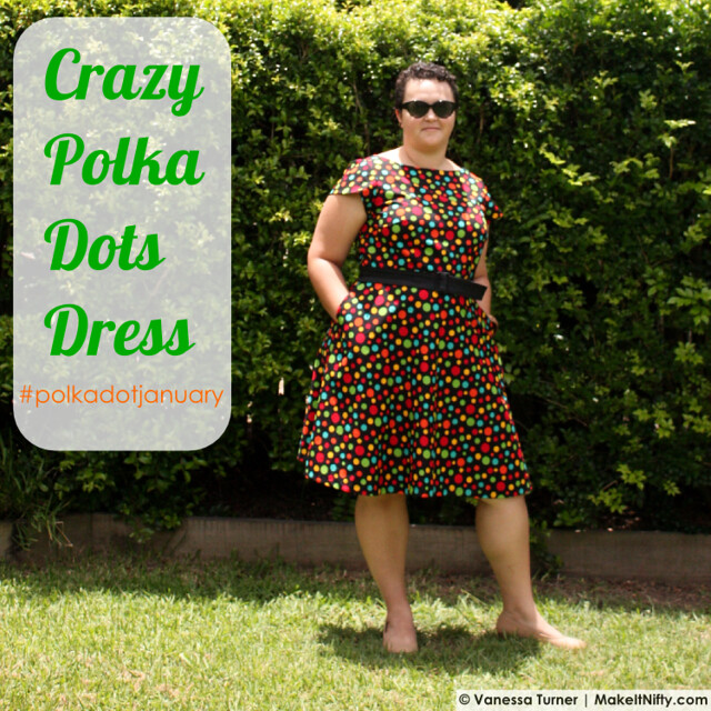 Crazy Polka Dots Dress - Make It Nifty