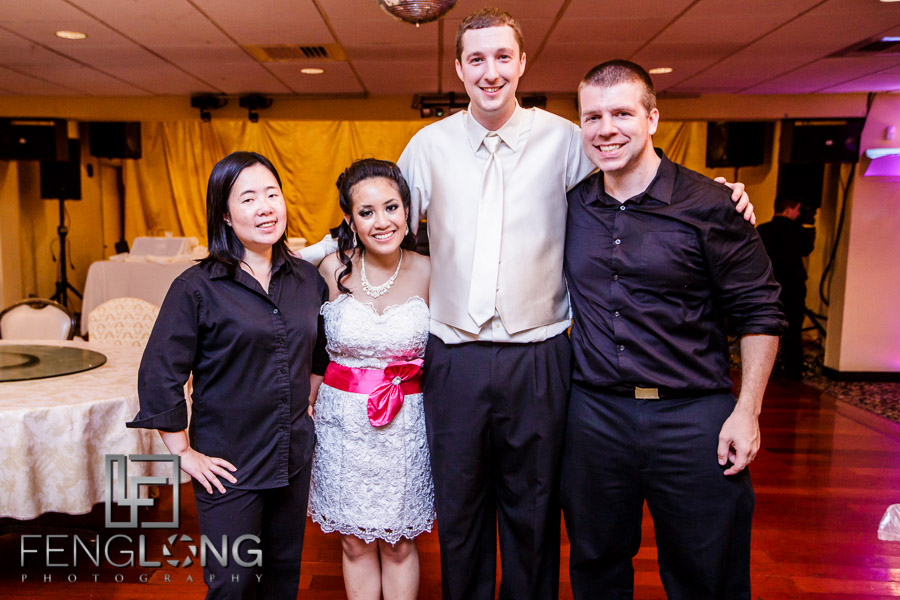Bride and groom with Zac & Betty FengLong Photography