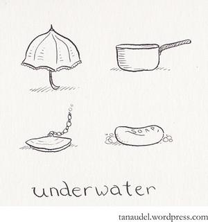 Illustration Friday: Underwater