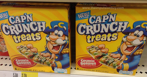 Cap'n Crunch Treats Crunch Berries
