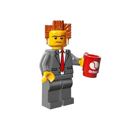 The LEGO Movie Minifigures President Business