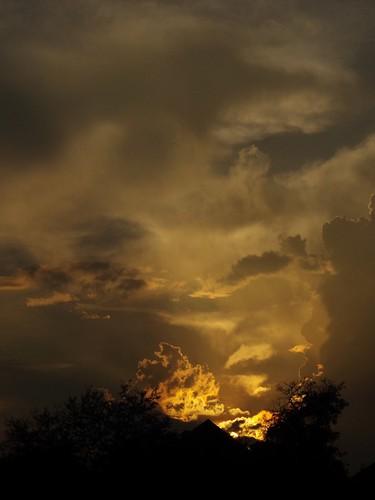 Sunset on Autumn