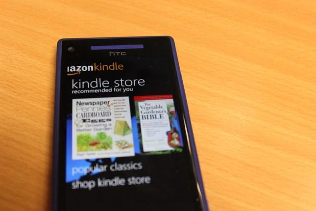 Kindle on Windows Phone