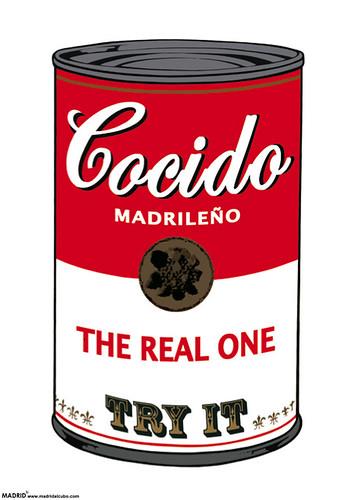 @Madrid al cubo poster