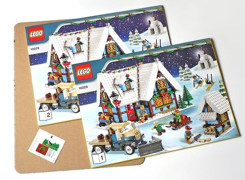 LEGO 10229 Winter Village Cottage pack02