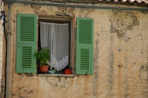 Corte town centre, Corsica