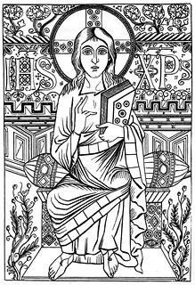 1-Christus Evangeliar Karl Gr