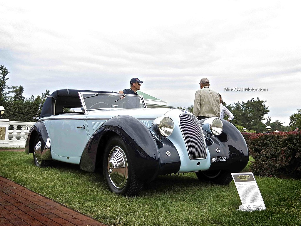 1938 Talbot Darracq T23 Short Chassis Cabriolet
