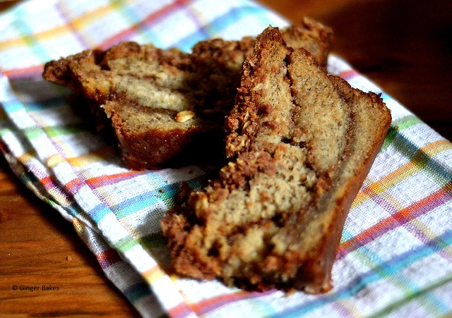 Banana Strusel Coffee Cake